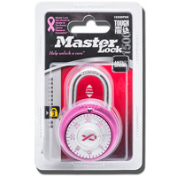Image For Master Lock Breast Cancer Awareness Padlock (Pink)