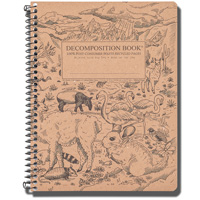 Cover Image For Decomposition Book Andes Notebook (College Ruled)