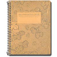 Image For Decomposition Book Cascade Hops Notebook (College Ruled)