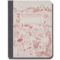 Image For Decomposition Book Barnyard Notebook (College Ruled)