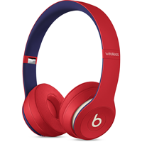 Image For Beats Solo3 Wireless Headphones - Club Red