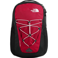 Image For The North Face Jester Backpack (Red/Black)