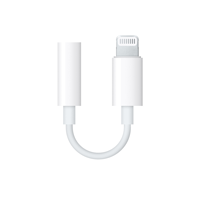 Cover Image For Apple Lightning to 3.5 mm Headphone Jack Adapter