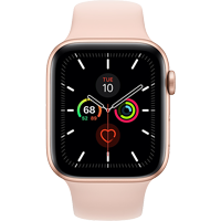 Image For APPLE WATCH SERIES 5 44MM GOLD ALUMINUM CASE - SPORT BAND