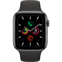 Image For APPLE WATCH SERIES 5 44MM S. GRAY ALUMINUM CASE - SPORT BAND