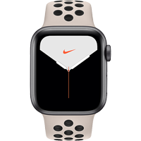 Image For APPLE WATCH SERIES 5 40MM NIKE SPACE GRAY CASE - SPORT BAND