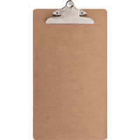 Image For Bazic Products Legal Size Hardboard Clipboard