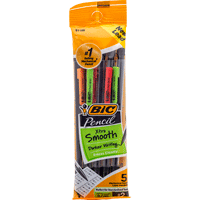 Image For Bic Mechanical Pencil 5-Pack (.7mm Pencil)