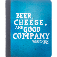 Cover Image For Barcharts, Inc. Beer, Cheese, and Good Company Notebook