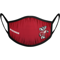 Image For Strideline Bucky Badger Face Mask (Red) (Preorder)