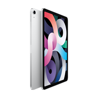 "Image For Apple iPad Air 10.9"" 4th-Gen 64GB; Wi-Fi (Silver)"