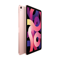 "Image For Apple iPad Air 10.9"" 4th-Gen 64GB; Wi-Fi (Rose Gold)"