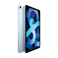 "Image For Apple iPad Air 10.9"" 4th-Gen 64GB; Wi-Fi (Sky Blue)"